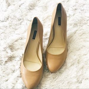 🍃Alex Marie | Tan Pumps